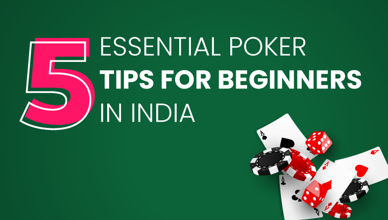 essential poker tips