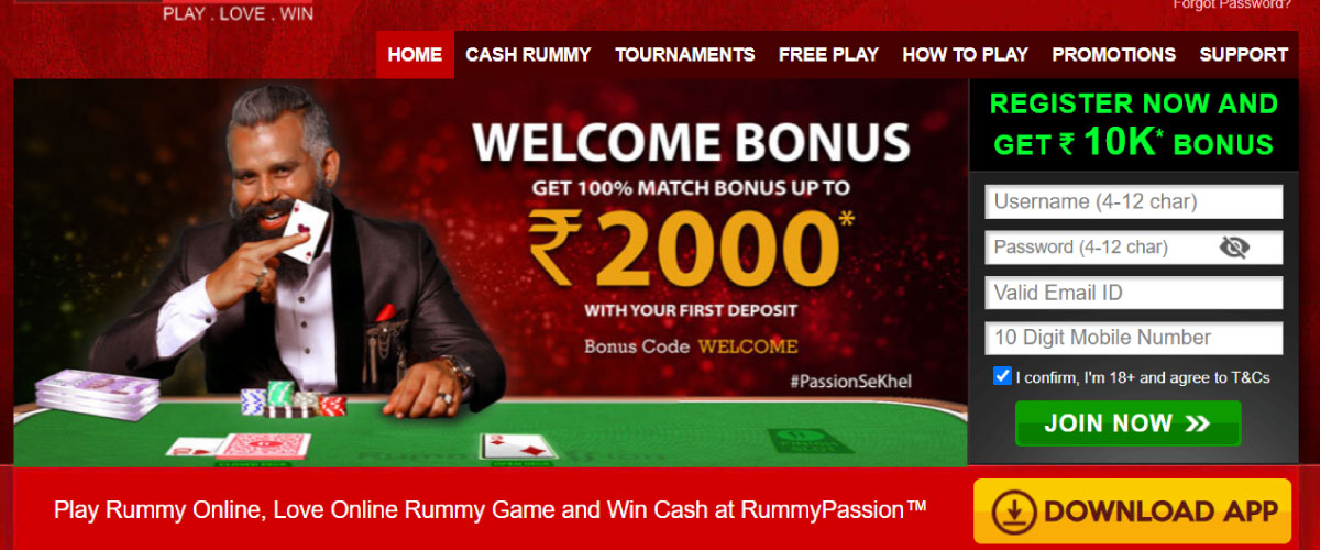 rummy passion india