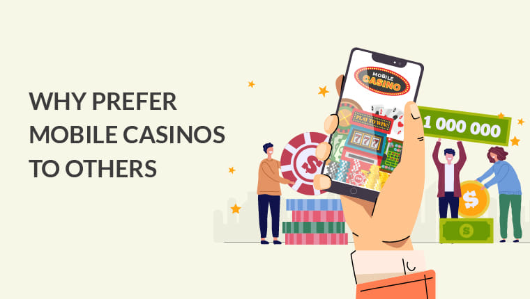 Mobile casino to others