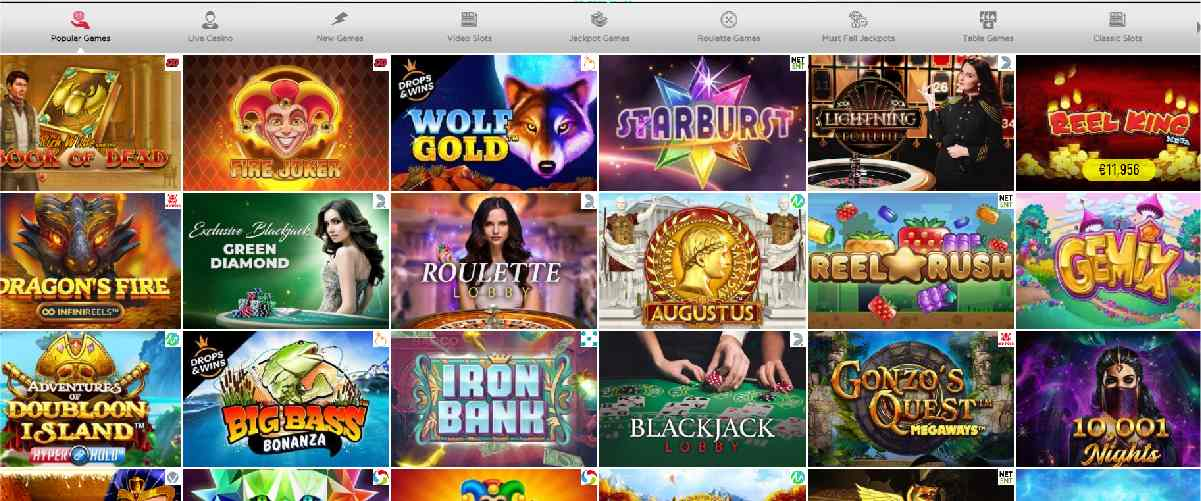 Spinit Casino Games Review