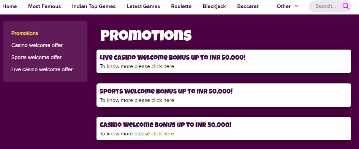 bollybet casino promotions